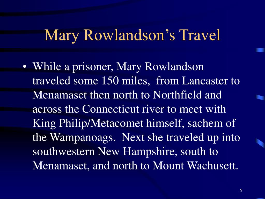 mary rowlandson analytical paragraph A summary and analysis of the sovereignty and goodness of god by mary rowlandson pages 2 words 1,246 view full essay more essays like this.