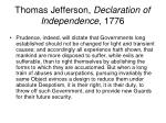 thomas jefferson declaration of independence 1776