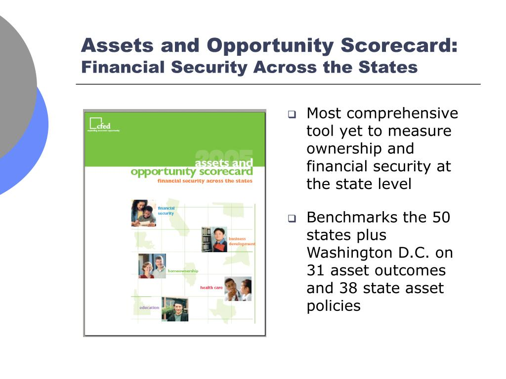 Most comprehensive tool yet to measure ownership and financial security at the state level