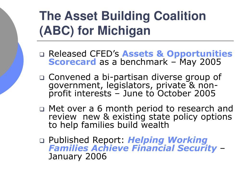 The Asset Building Coalition