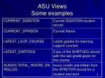 asu views some examples