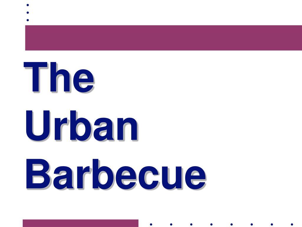 the urban barbecue l.