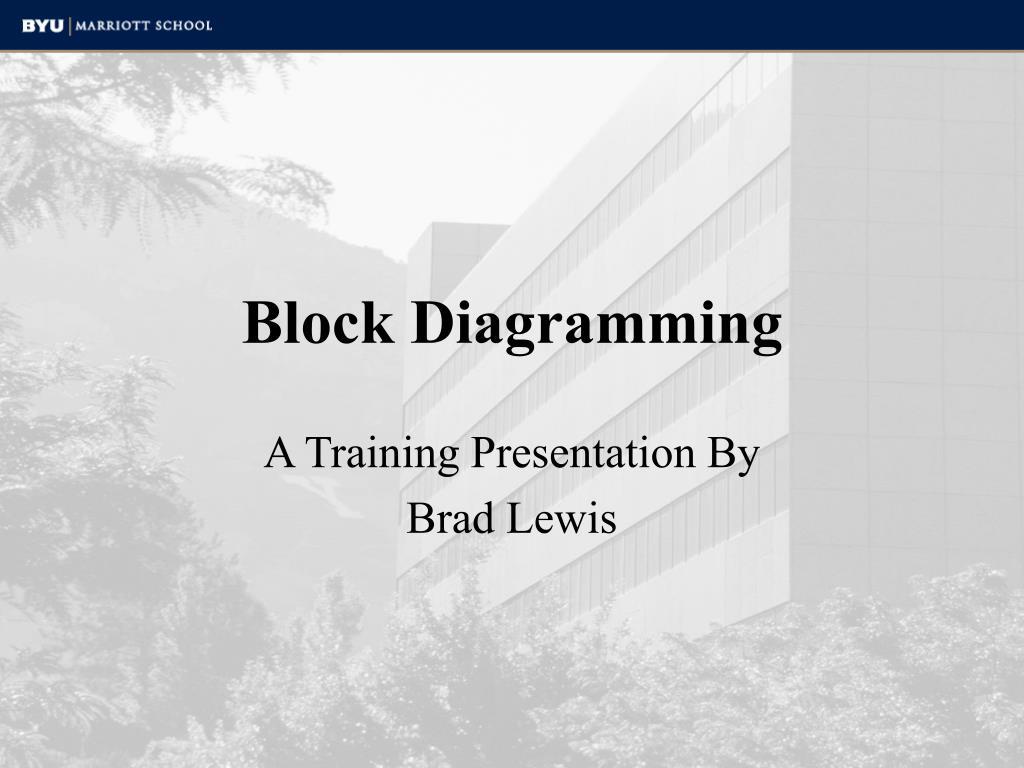 block diagramming l.