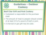 guidelines outdoor cookery1