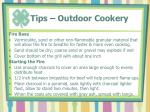 tips outdoor cookery3