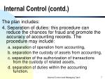 internal control contd7