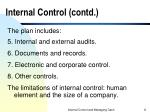internal control contd8