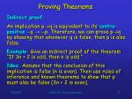 proving theorems21