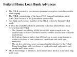 federal home loan bank advances