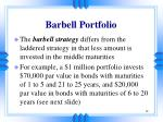barbell portfolio