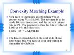 convexity matching example