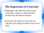 the importance of convexity