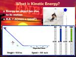 what is kinetic energy