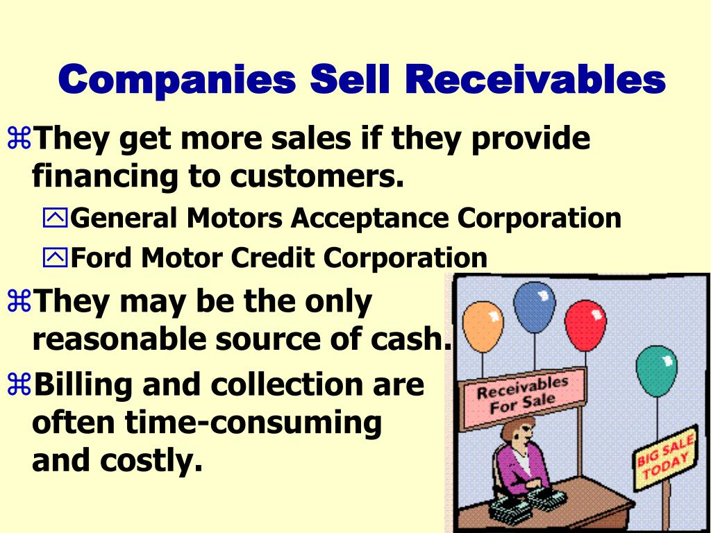 Companies Sell Receivables