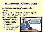 monitoring collections