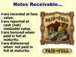 notes receivable34