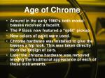age of chrome