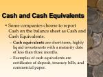 cash and cash equivalents13