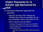 visitor payments to j1 scholar not sponsored by uga25