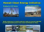 hawaii clean energy initiative