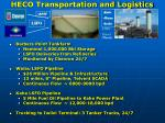 heco transportation and logistics