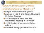 female circumcision female genital mutilation what is it
