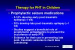 therapy for pht in children19