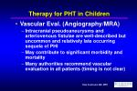therapy for pht in children21