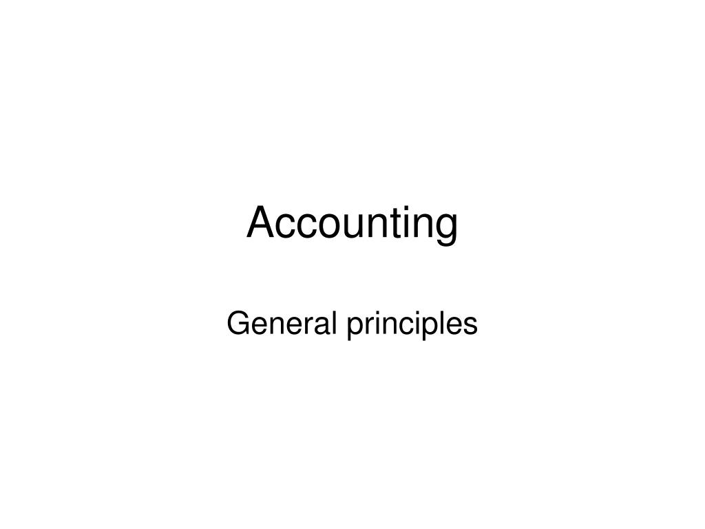 accounting l.