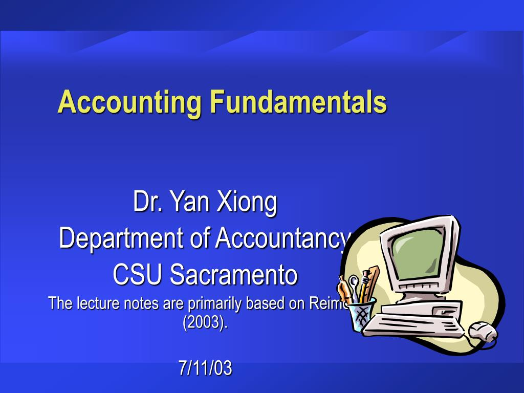 accounting fundamentals l.
