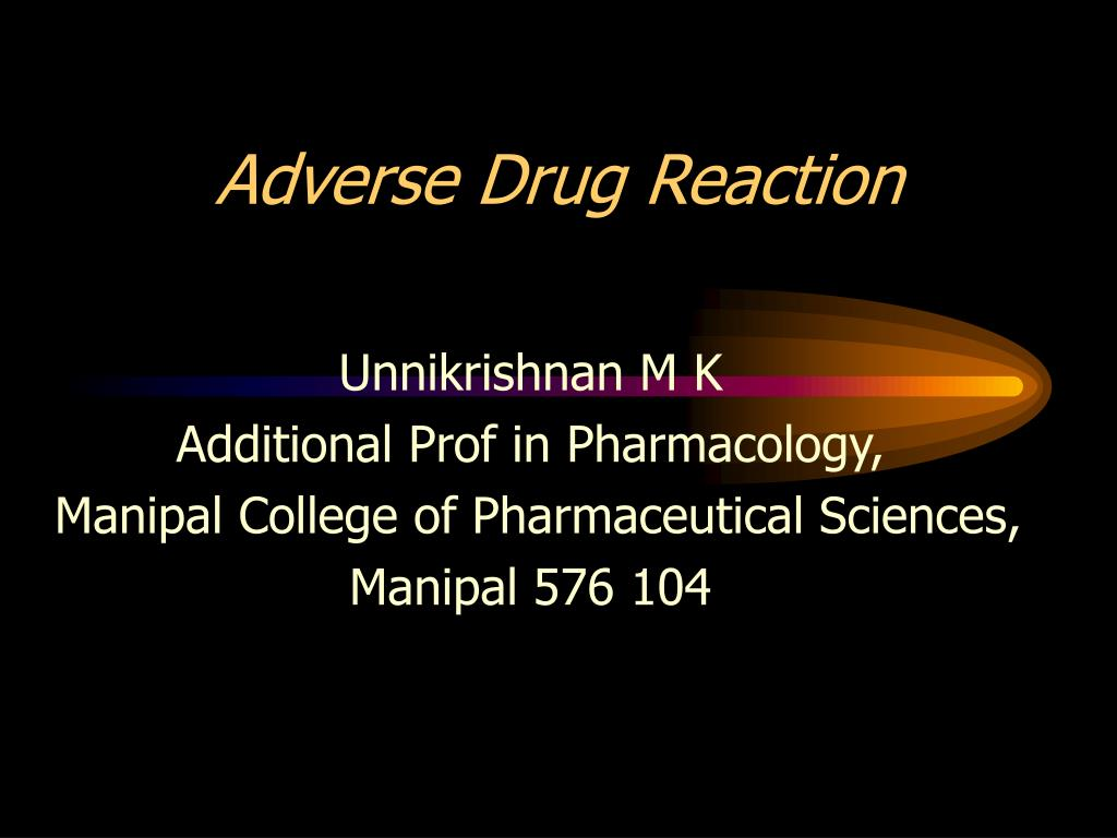 adverse drug reaction l.