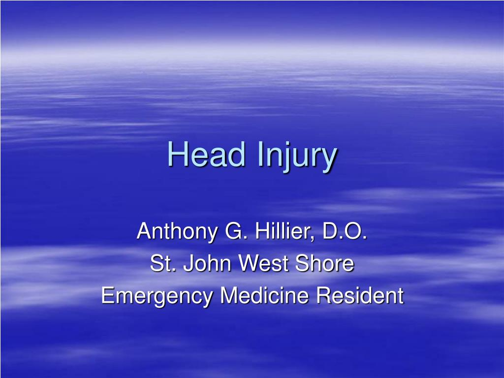 head injury l.