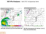 925 hpa analyses 1200 utc 16 september 2004