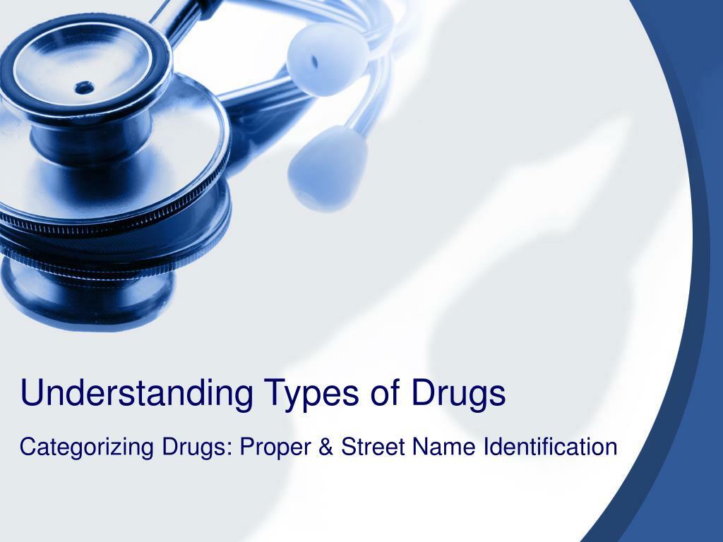 understanding types of drugs l.
