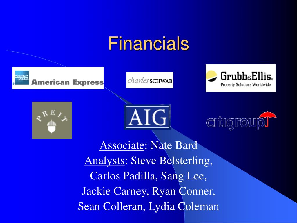 financials l.