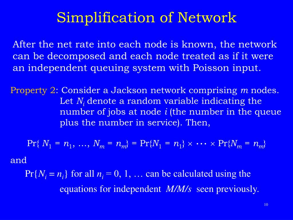 Simplification of Network