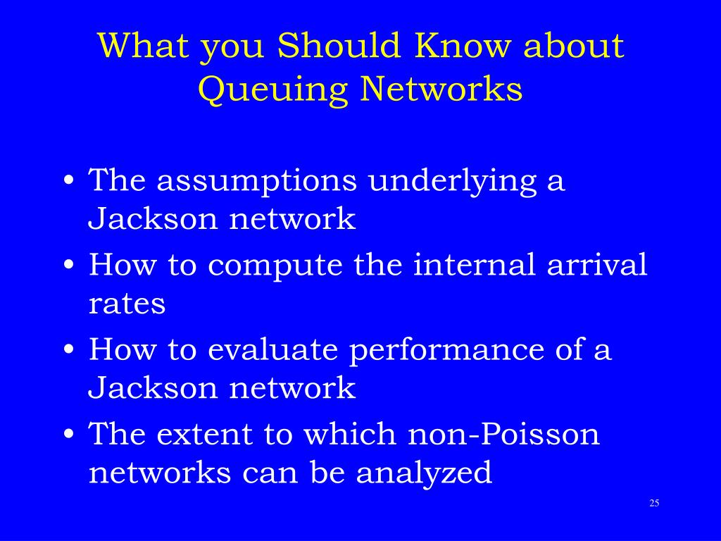 What you Should Know about Queuing Networks