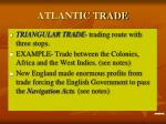 atlantic trade