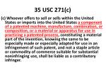 35 usc 271 c