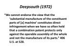 deepsouth 1972