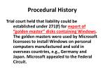 procedural history