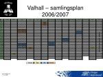 valhall samlingsplan 2006 2007