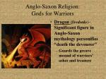 anglo saxon religion gods for warriors23