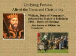 unifying forces alfred the great and christianity17
