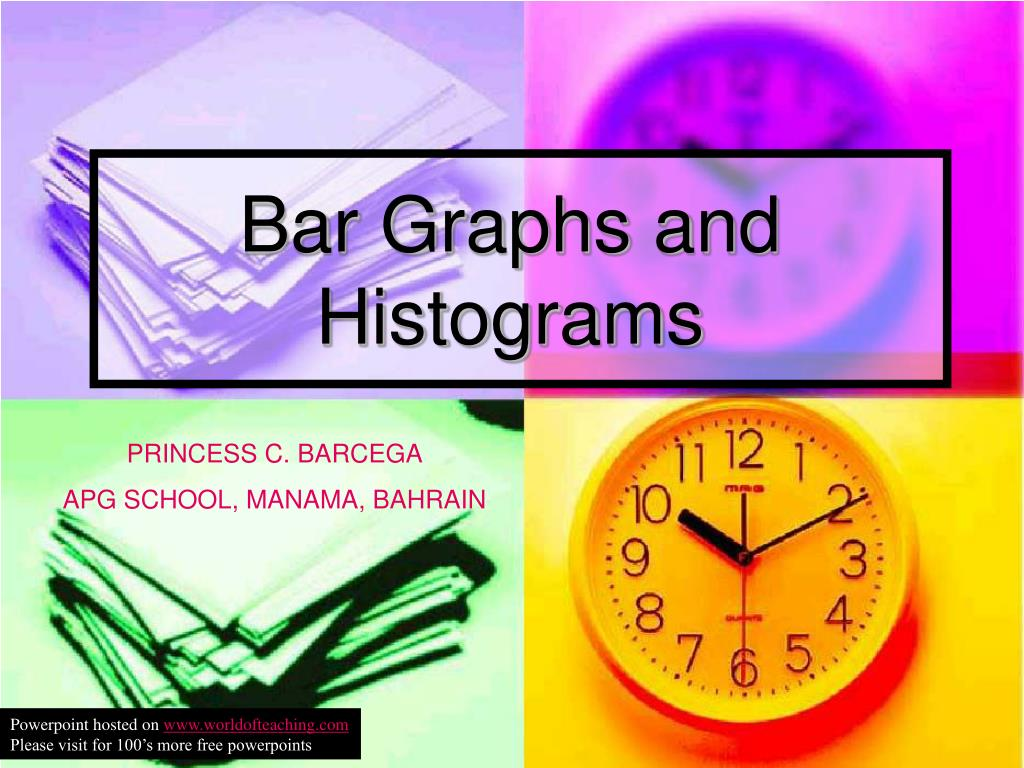 bar graphs and histograms l.