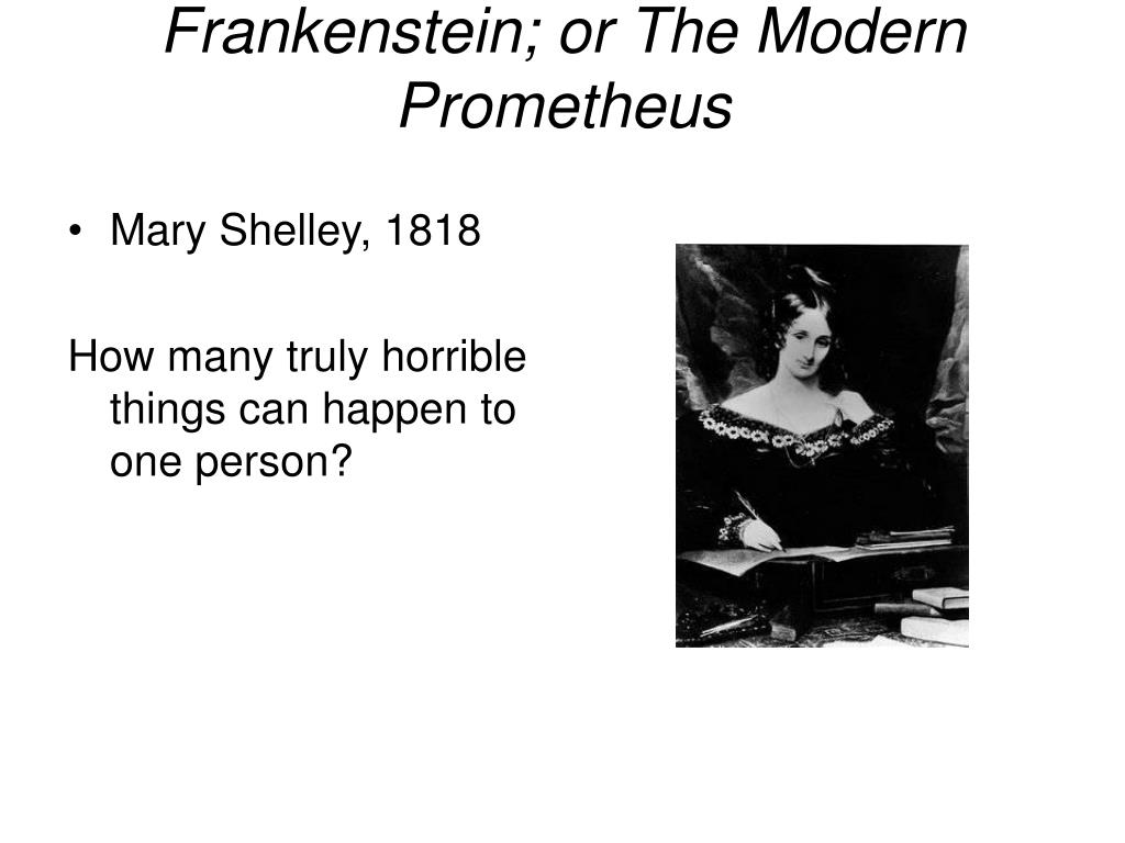 frankenstein or the modern prometheus l.