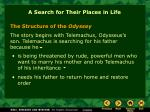 a search for their places in life14