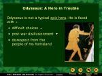 odysseus a hero in trouble