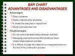bar chart advantages and disadvantages