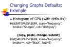 changing graphs defaults example